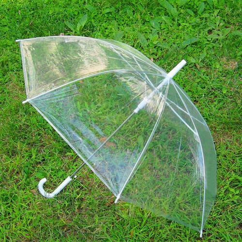 45 large transparent umbrella clear see through