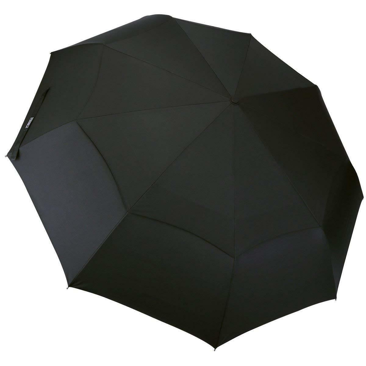 NEW G4Free 48 In Large Compact Folding Golf Umbrella Tr