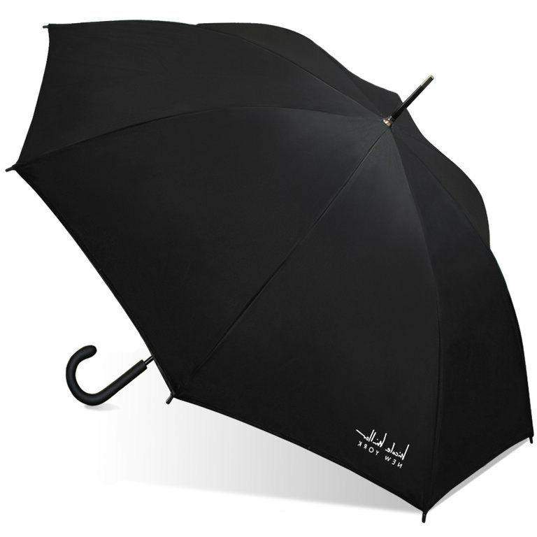 Nicole Miller Two-Tone Umbrella