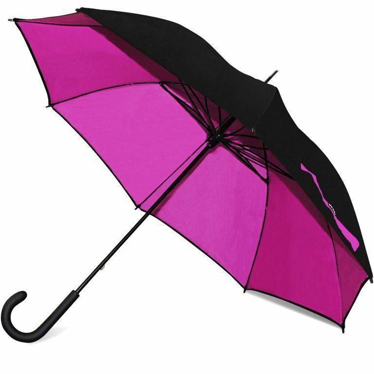 48 windproof two tone stick umbrella