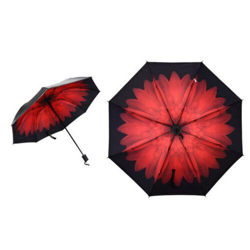 Flower Rain Anti-UV Parasol