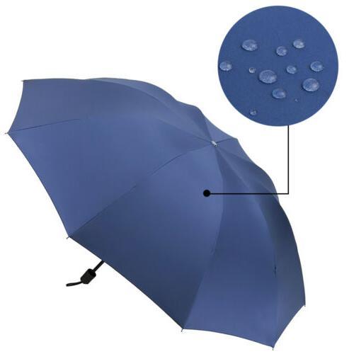Large Women Anti-UV Windproof Rain Oversize