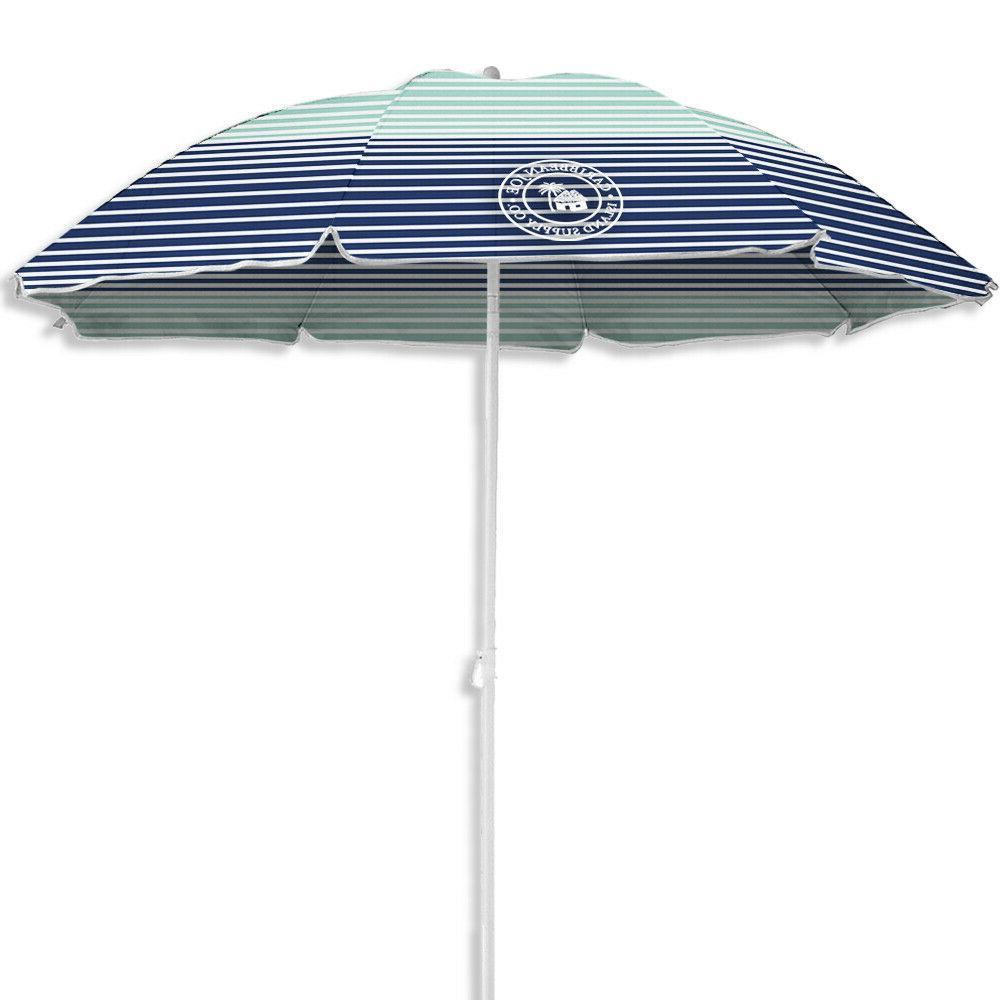 Caribbean 6 Basic Umbrella colors