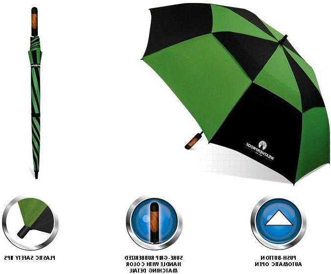 WeatherProof Fiberglass Jumbo Golf Umbrella