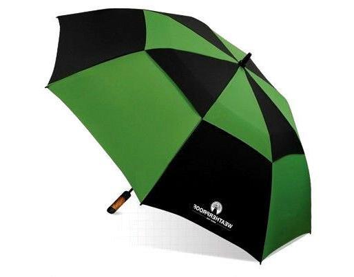 "WeatherProof 60"" Double Canopy Fiberglass Auto Jumbo Folding"