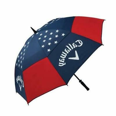 Callaway 60 Liberty Umbrella-Red/White/Blue