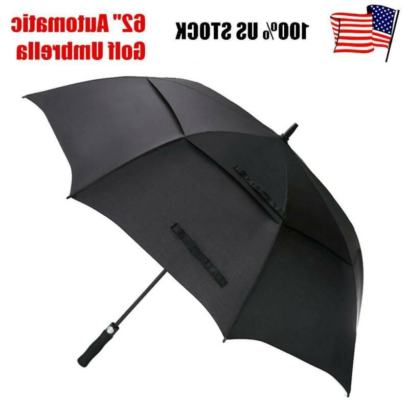 62 automatic open golf umbrella extra large