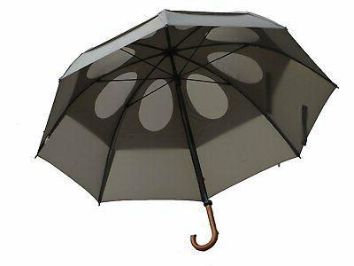 62 canopy doorman umbrella suit grey