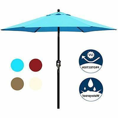 7 5 Ft Patio Umbrella With Fringe Yard
