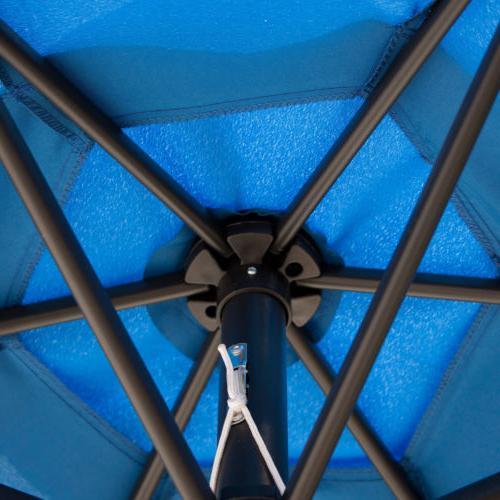 8/9/10FT Outdoor Patio Canopy Market Shelter Tilt W/Crank