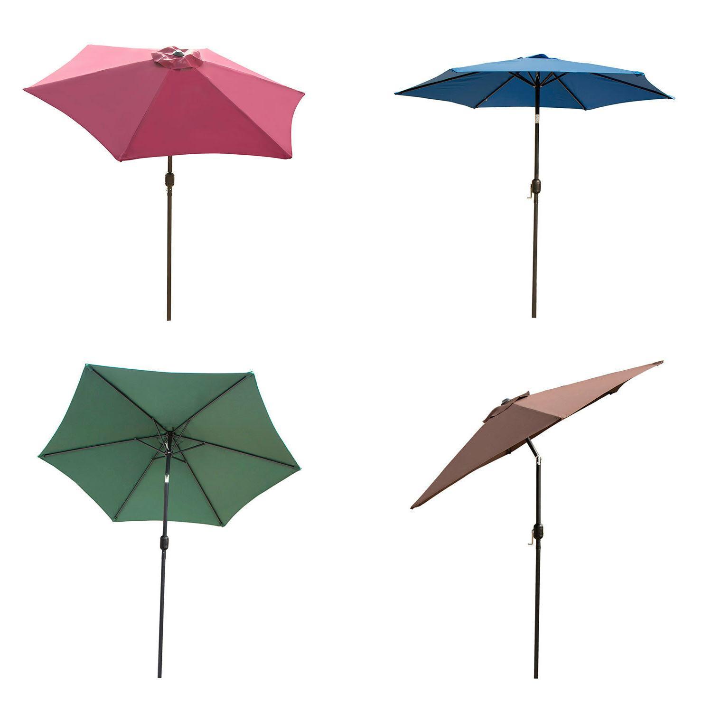 8 9 10ft outdoor patio umbrella canopy