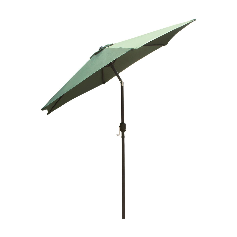 8Ft Patio Umbrella Market Yard Garden Tilt