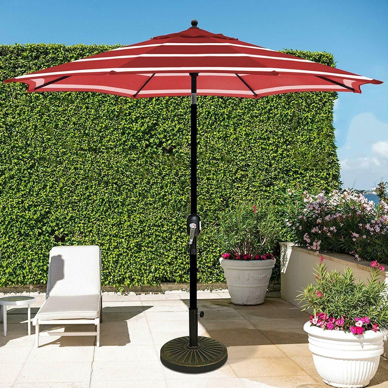 9 feet outdoor patio table umbrella garden