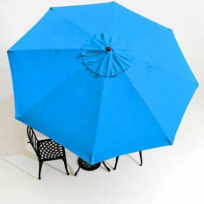 8'/9'/10'/13' Umbrella Canopy 8 Rib Top