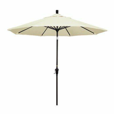 9 patio umbrella in canvas