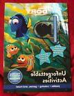 Activity Book with Chalk Board Necklace Disney Pixar Finding