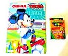 Disney Mickey Mouse Jumbo Coloring & Activity Book Plus 24 P