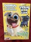 Disney Puppy Dog Pals Jumbo Coloring and Activity Book- Pug