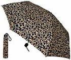 "Lot of 16 - 42"" Leopard Print Super Mini Umbrellas - RainSto"