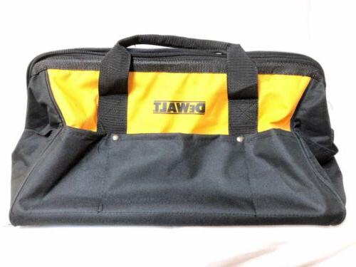 "New DeWALT Large 19""x12"" Heavy Duty Nylon Canvas Contractor"