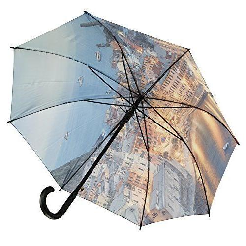 Galleria Auto Folding Umbrella - -