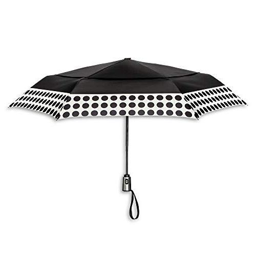 auto open close air vent compact umbrella