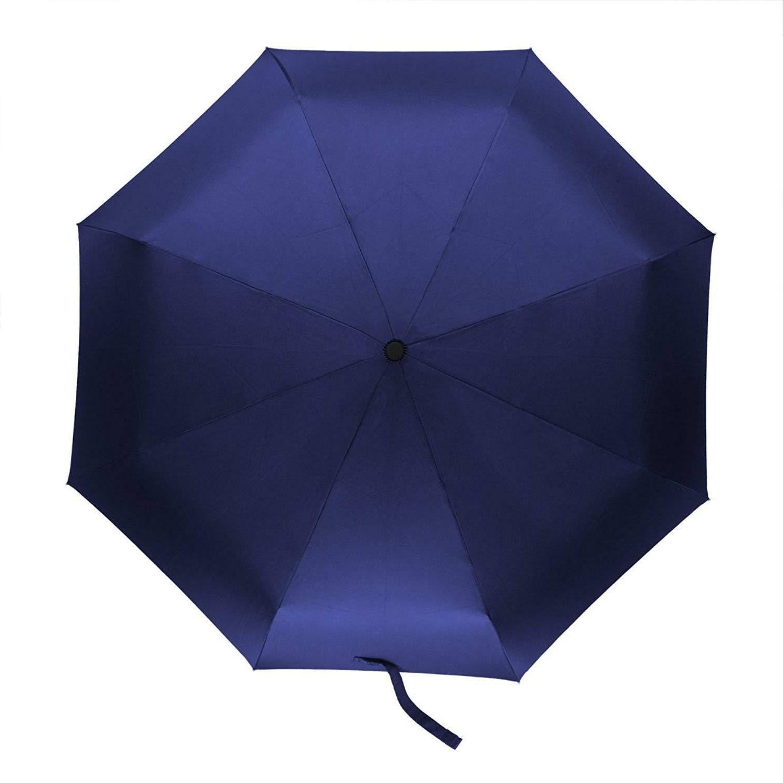 Auto Open Close Folding Compact Umbrella Windproof Travel Wo