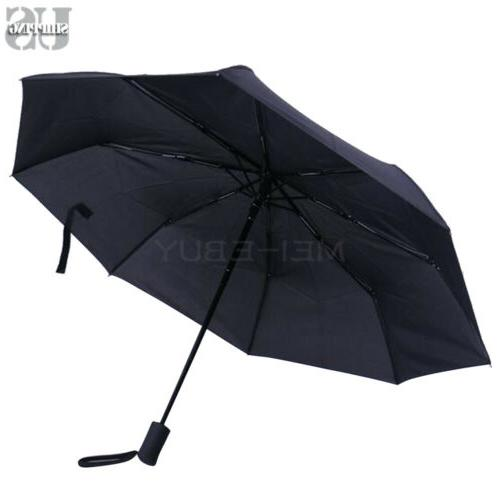 Auto Open Travel Compact Umbrella Waterproof