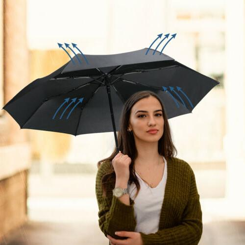 Auto Close Folding Umbrella