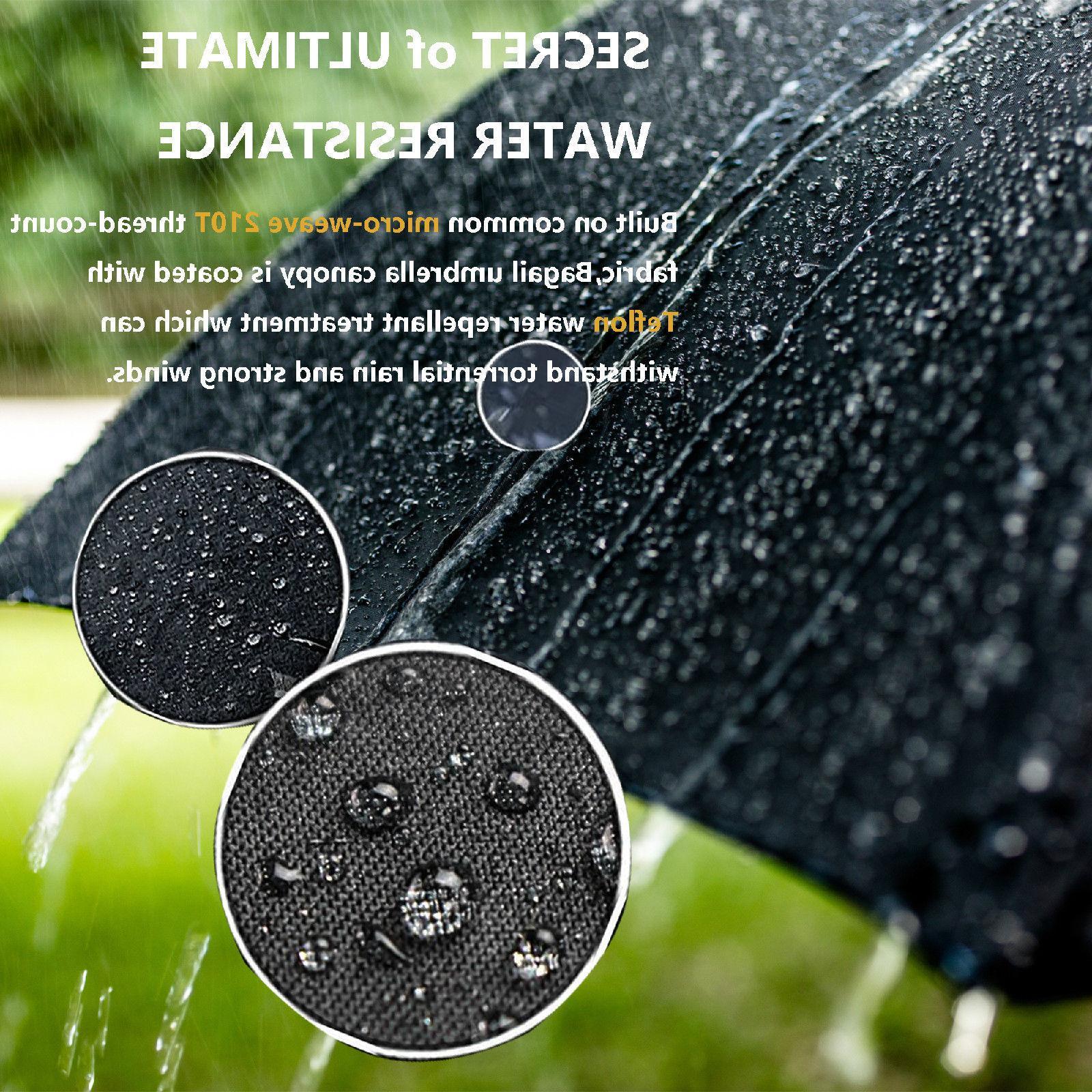 Bagail Travel Windproof umbrellas