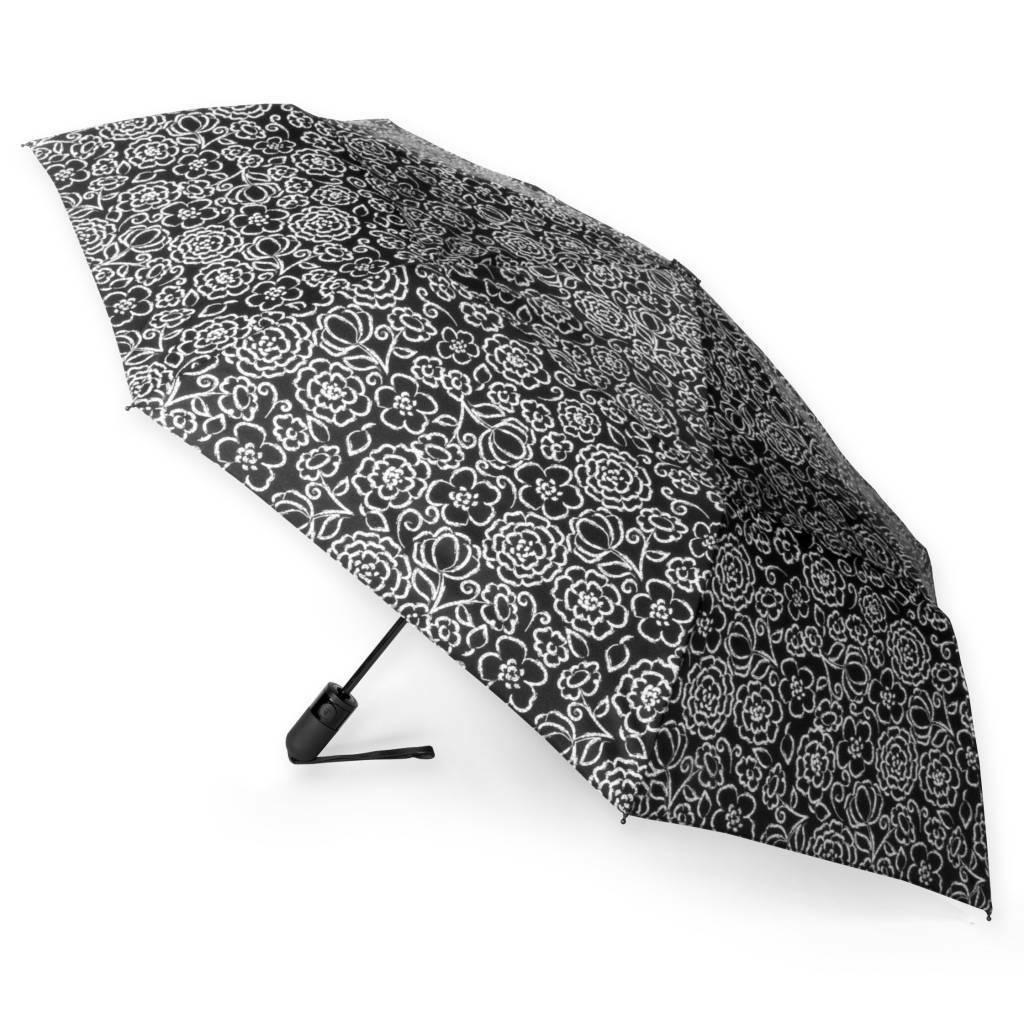 auto open close vented compact wind umbrella