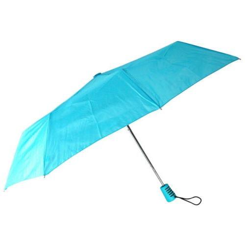 automatic blue teal umbrella 42 large auto