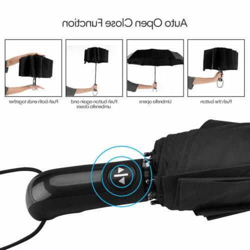 Automatic Umbrella Auto Umbrella Waterproof Men Women