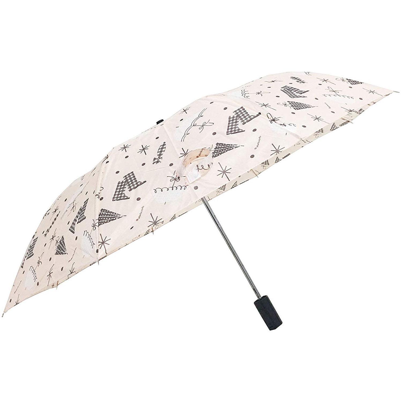 Automatic Folding Compact Umbrella Women Girls Windproof Rai
