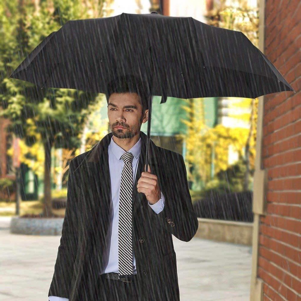 Automatic Umbrella Windproof Women Travel