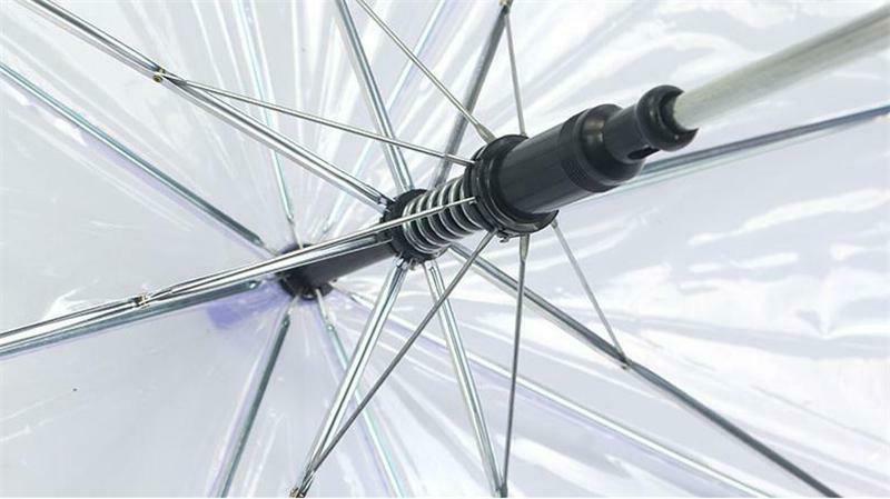 Automatic High Quality Clear Umbrella w Handle Auto