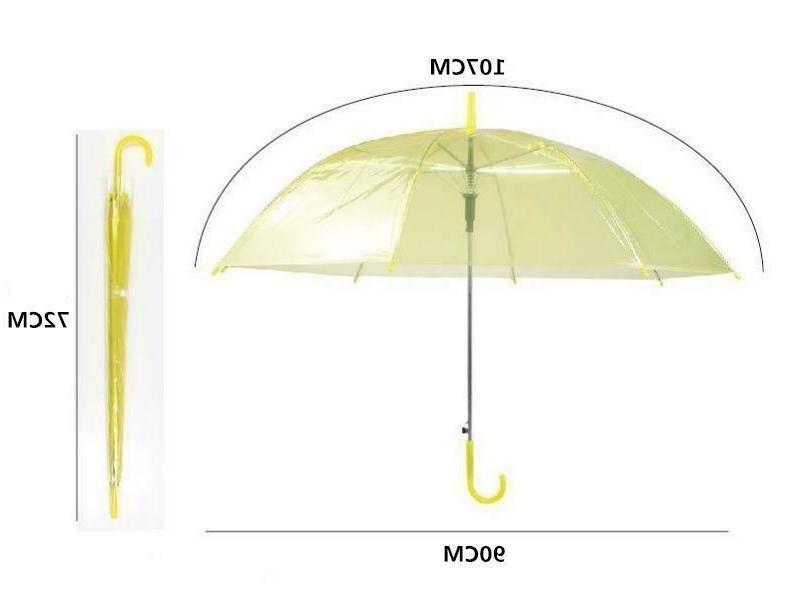 Automatic Clear Umbrella Handle