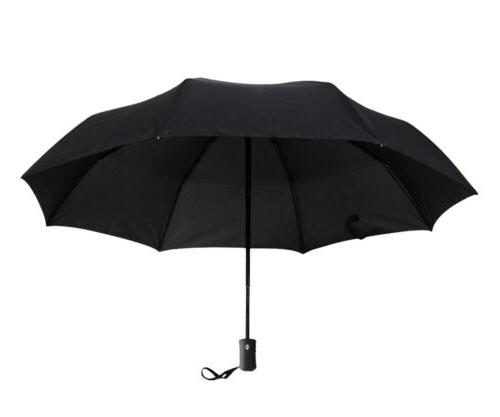 Automatic ON/OFF Umbrella Anti-UV Sun 3 Folding