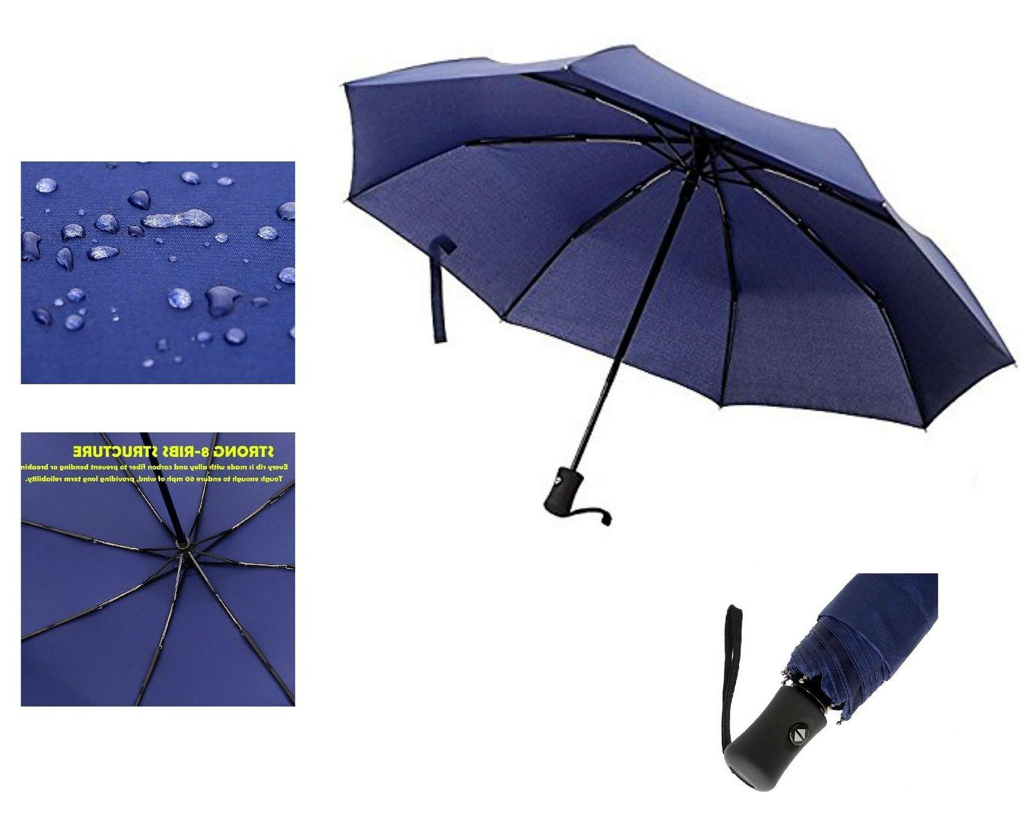 Automatic Travel Umbrella Auto Open Windproof