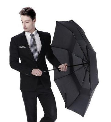 Automatic Travel Umbrella Windproof Auto Folding Sun Rain Umbrella