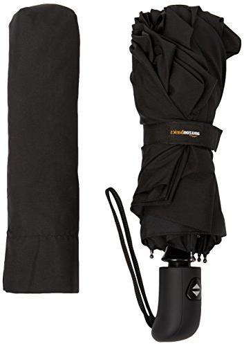 AmazonBasics Travel Umbrella, with Wind