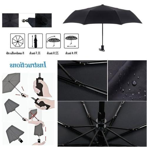 Automatic Anti-UV Rain Umbrella Folding XL