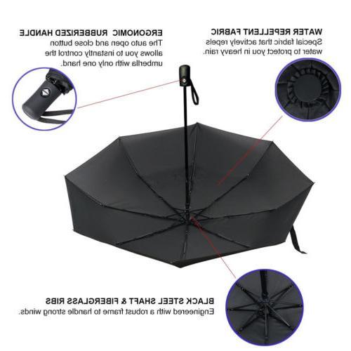 Rain Umbrella Windproof Folding