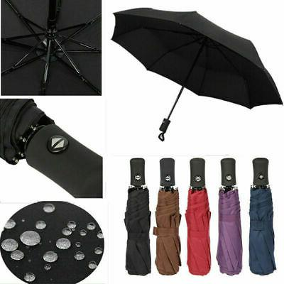 Auto Open 3 Folding Compact Umbrella