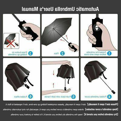 Auto Open Close Folding Umbrella