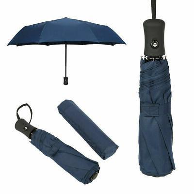 Automatic Umbrella Rain Auto Open Close 3 Folding Umbrella US