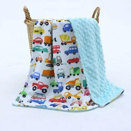 baby boy minky blanket stroller blanket play