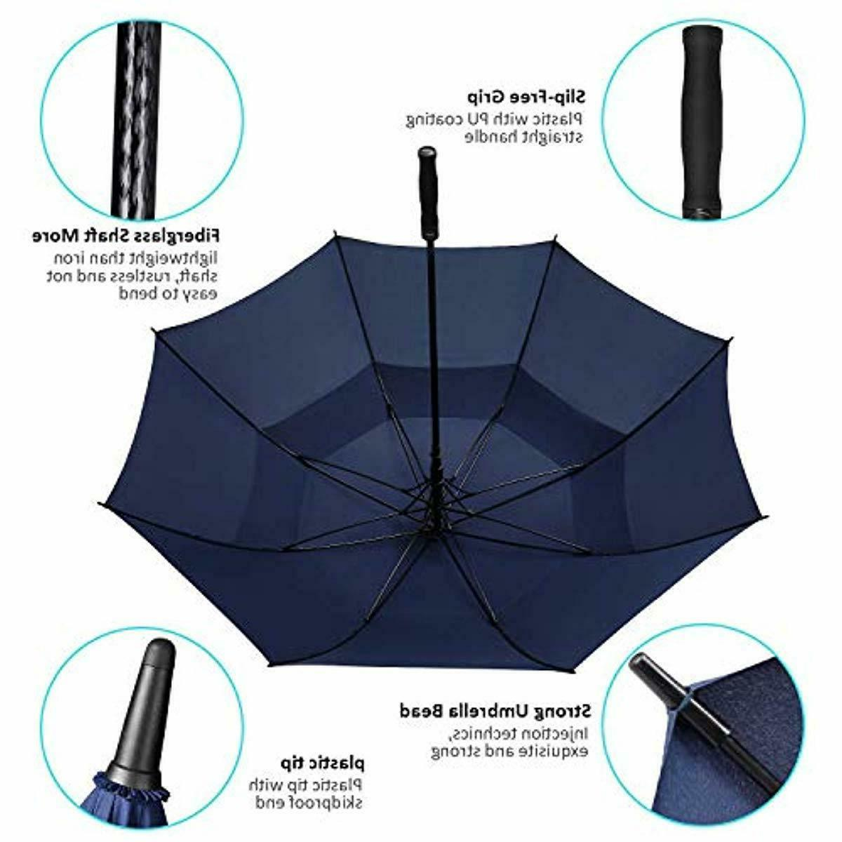 BAGAIL Inch Large Oversize Canopy Vented Windproof