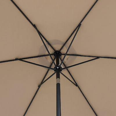 BCP Market Umbrella w/