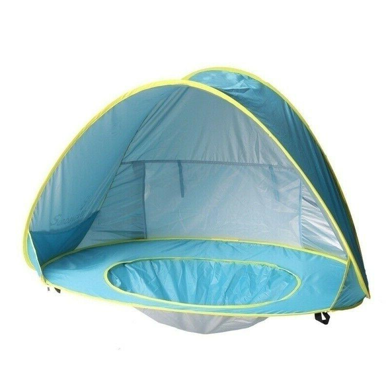 Beach Tent Umbrella Camping Protection Sun Shelters